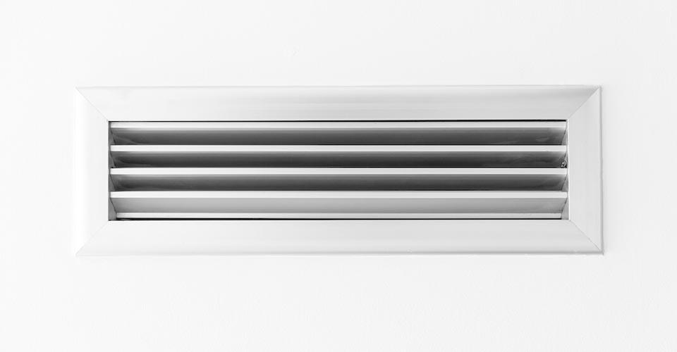 Rejilla de ventilación para pared