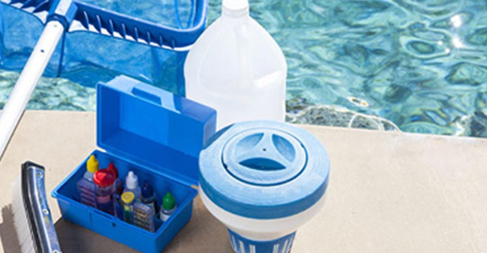Kit de mantenimiento de piscinas
